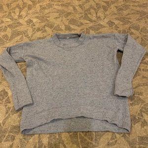 Lululemon hi lo sweater